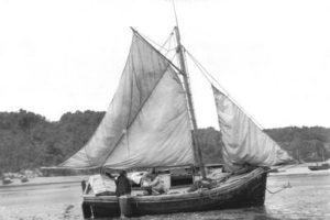 Lancha Chilota clasica o antigua como la menciona don Renato Alvarado